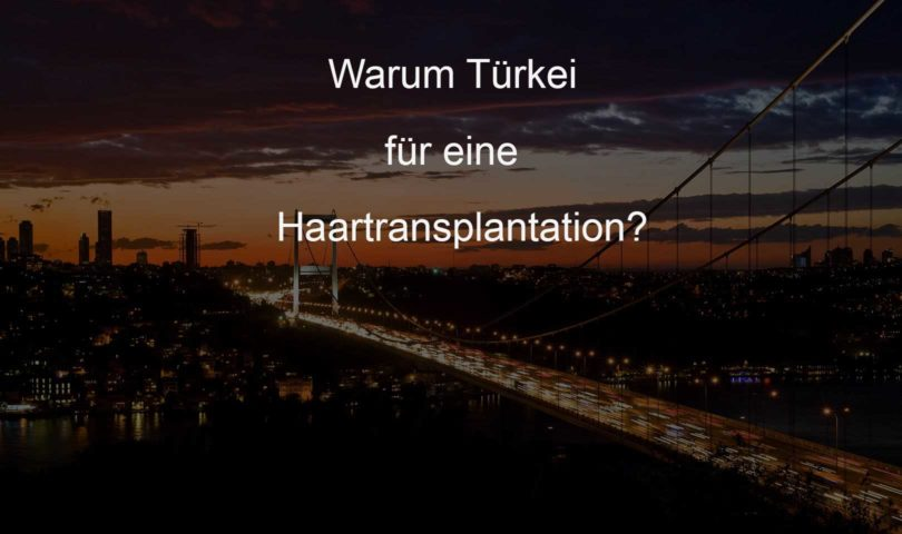 In die Türkei für eine Haartransplantation